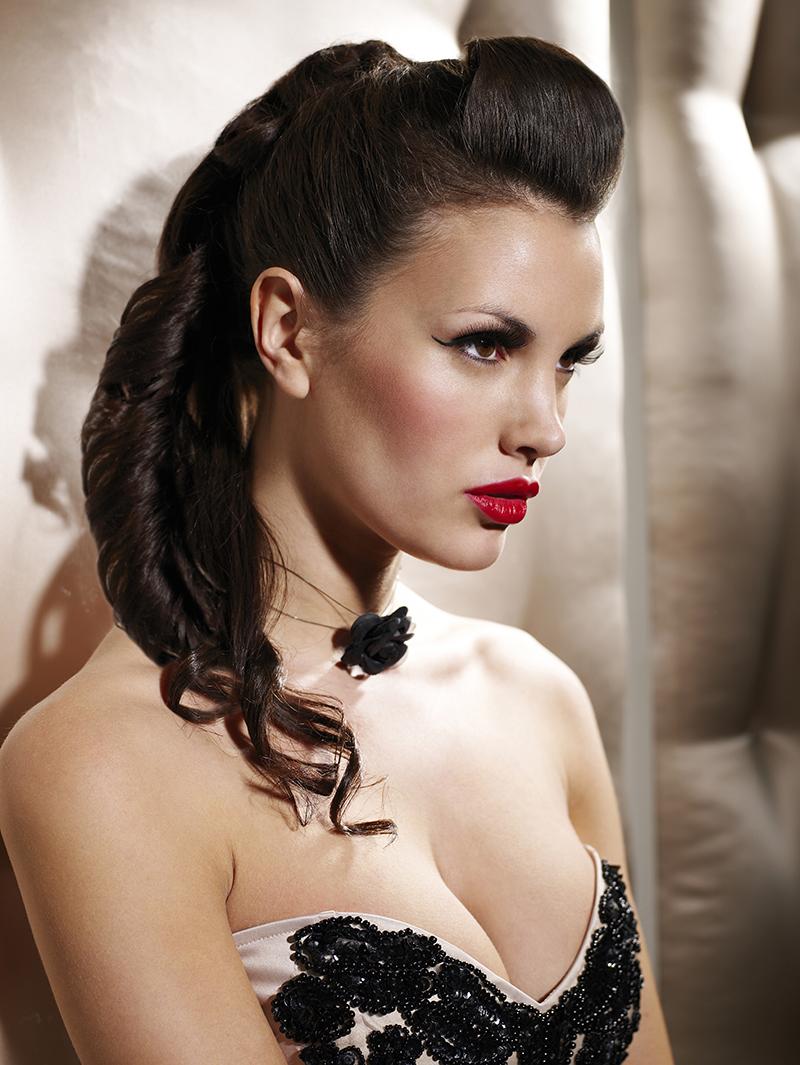 Burlesque Orao Hair Cutting Edge London Style